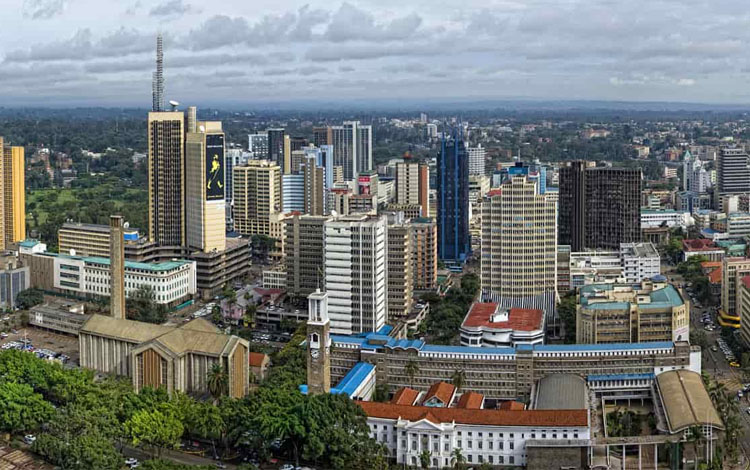 Brazzaville, the capital of the Republic of Congo. / DR